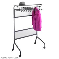 Safco Coat Rack Impromptu Garment Rack Safco Products 63