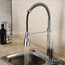 kitchen faucet single type spring water tap faucets with sprayer