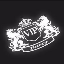 1PC <b>14*11cm</b> 2017 New <b>Style Car</b> Stickers VIP The Lion Reflective ...
