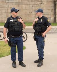 U S Coast Guard Police Officers Fort Wadsworth New York