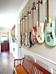 guitar wall display guitar wall mount ideas