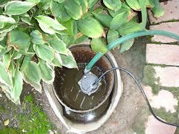 an outdoor sump pump