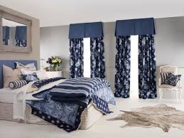 Navy And White Curtains Navy Blue Curtains For Bedroom Best Curtains 2017