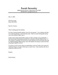 Format Of Covering Letter For Job Application Sample Resume Letter