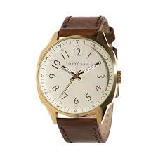 men s watches tokyobay watches and accessories gable 44 5mm mens watch by tokyobay full number beige dial inspired by the original