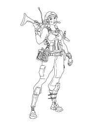 Printable Fortnite Coloring Pages Free To Print 2 Super Coloring Page