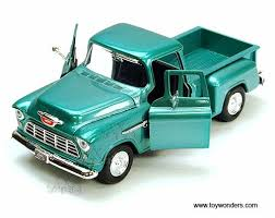 1955 chevy Stepside Pickup Truck by Showcasts 1/24 scale diecast ...