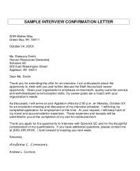 8+ Sample Interview Appointment Letters | Sample Templates