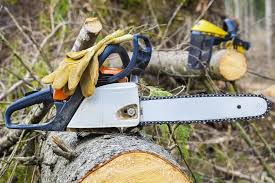 best chainsaw. protective gloves on chainsaw best