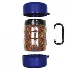 <b>TRIXIE Набор дорожный</b>, контейнер для корма 1,75л, 2 миски 0,65л