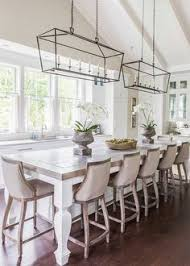 dinner table lighting. Glass Iron Pendant Lights, Kitchen Island, Timber Upholstered Armchairs Dinner Table Lighting