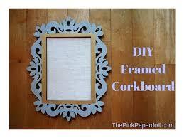 diy framed cork board diy large framed cork board framed burlap cork board diy