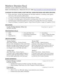 Ii4 How To Write Resume Video Game Script Great Make A For