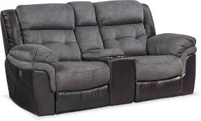 living room furniture tacoma dual power reclining loveseat with console