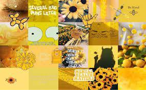 Yellow Aesthetic Laptop Wallpapers ...