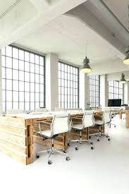 industrial office decor. Chic Office Decor Captivating Cool Rustic Industrial Building Contemporary . D