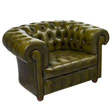leather club chairs for sale. Modren For Vintage Chesterfield Green Leather Club Chair For Sale Throughout Chairs C