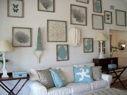 Beach House Wall Decor With White Paint Color Home