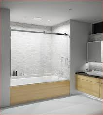 glass bathtub doors home depot