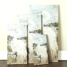 ballard wall art designs inspired watercolor outdoor paragonit white heron