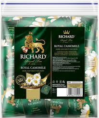 <b>Чай Richard фруктово-травяной Royal</b> Camomile 50 пакетиков ...