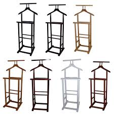 Double Coat Rack New Single Double Coat Clothes Valet Butler Garment Stand Rack 34