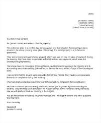 Previous Landlord Reference Template Letter Free Sample Example