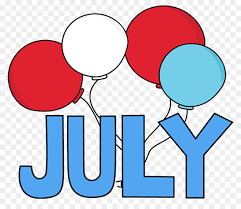 Clip Art Image July Month 0 Closed For 4th Of July Sign Template