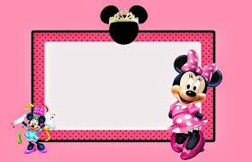 free minnie mouse invitation template minnie mouse free printable invitation templates invitations online
