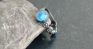 авторские украшения - Кольцо с халцедоном - Strukova Elena