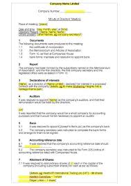 sample of minutes taken at a meeting 20 handy meeting minutes meeting notes templates