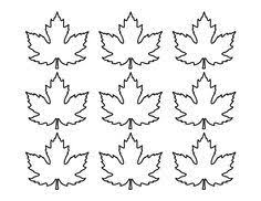 Canadian Maple Leaf pattern. Use the printable outline for crafts ... & Canadian Maple Leaf pattern. Use the printable outline for crafts, creating  stencils, scrapbooking, and more. Free PDF template to download and pri… Adamdwight.com