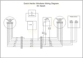 installing a quick windlass wiring diagram for remote chain counter