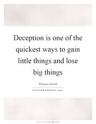 Famous Deception Quotes By Thomas Sowell Golfian Awesome Deception Quotes