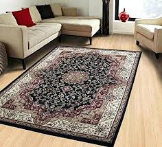 area rug canada wool fl linens empire collection traditional vintage black home furniture adorable