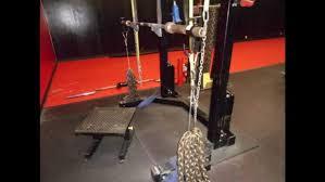 135kg  Chains Bench Press  YouTubeChains Bench Press