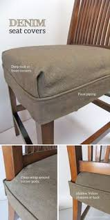 tailored denim seat covers dining room seat coversdining room chair