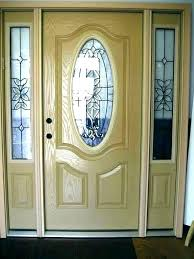 fiberglass entry door reviews steel doors with glass front home fashion 20