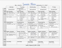 30 Free Printable Preschool Lesson Plan Template Free Download ...