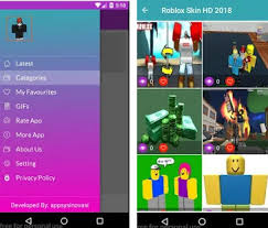 Roblox Skin Creator Roblox Skins Hd 2018 Apk Download Latest Version Com