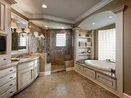 traditional master bathroom designs. Traditional Master Bath In Neutral Tones. #masterbathrooms Homechanneltv.com Bathroom Designs T