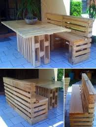 Cool Outdoor Furniture Made From Pallets U2014 Decor TrendsPallet Furniture For Outdoors