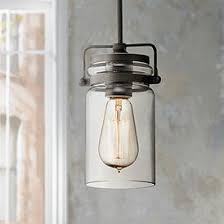Rustic glass pendant lighting Kitchen Kichler Brinley 34 Lamps Plus Rustic Lodge Pendant Lighting Lamps Plus