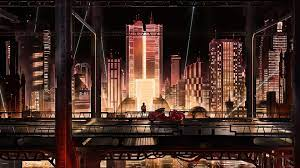Wallpaper 4k Anime City Scape Wallpaper