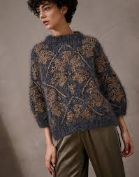 Джемпер с круглым вырезом | Вязание 2 | Pinterest