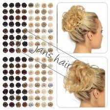 Details About Koko Hair Scrunchie Wrap Curly Or Wavy Messy Bun Updo Hairpiece Various Natural