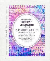 a birthday invitation 25 teenage birthday invitation templates free sample example