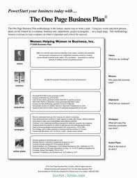 simple one page business plan template 025 20the one page business plan pdf by james horan template