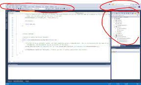 View Designer In Visual Studio 2015 Visual Studio 2015 Enterprise Edition Gui Issue Stack Overflow