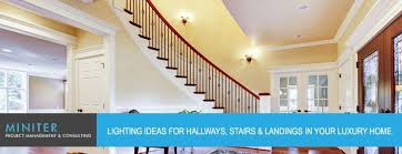 lighting for hallways and landings. Interesting Lighting Ideas For Hallways, Stairs And Landings In Your Luxury Home Hallways O